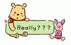 """Find and save images from the """"Pooh & Piglet"""" collection by Arikarinfutumo (Arikarinfutumo) on We Heart It, your everyday app to get lost in what you love. Winnie The Pooh Gif, Winne The Pooh, Pooh Bear, Tigger, Eeyore, Cartoon Gifs, Cute Disney Wallpaper, Disney Quotes, Cute Gif"""