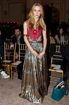 Fashion Icon: Mary Charteris Style