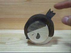 ちょいデブゆらゆら丸雀  A slightly fat  sparrow