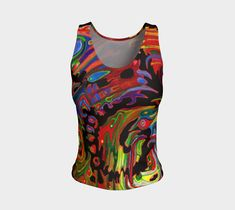 "Fitted+Tank+Top+""FRIEDRICH+BLACK""+by+ART+OF+THE+MYSTIC+OTTO+RAPP Workout Tank Tops, Mystic, Fitness, Fabric, T Shirt, Fashion Design, Beauty, Clothes, Black"