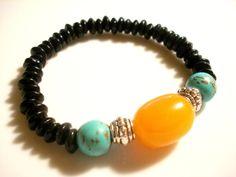 Yoga Bracelet  Boho Bracelet  Boho Chic Bracelet  by Gnosticos, $22.00