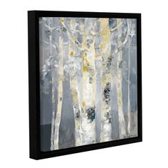 ArtWall Dusty Knight ' at Dusk' Gallery Wrapped Floater-framed