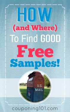 and Where to Find GOOD Free Samples! How and where to find GOOD free samples! Great tips for finding freebies!How and where to find GOOD free samples! Great tips for finding freebies! Couponing 101, Extreme Couponing, Start Couponing, Ways To Save Money, Money Saving Tips, Money Savers, Get Free Stuff, Frugal Tips, Free Things
