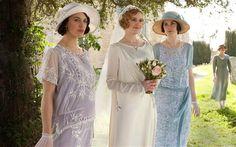 The fashion in Downton Abbey, season 3, ep 2