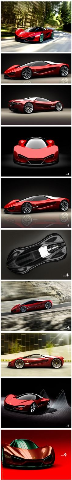 Ferraris concept ... With this one they pushed it too far