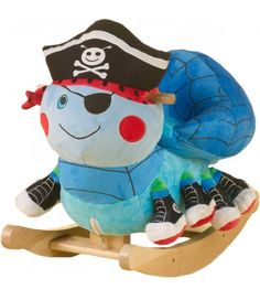 Ocho the Pirate Spider Rocker Ahoy spidey! Join Ocho, the Pirate Spider, on an eight-legged high seas adventure. Your little boy can now have as much fun as all the little girls who have made Lulu Ladybug Rockabye's number one seller
