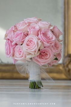The scented garden rose Pink O'Hara is very fragrant and often used for weddings and special events. A perfect Pink garden rose! Bridal Bouquet Pink, Pink Rose Bouquet, Purple Bouquets, Rose Wedding Bouquet, Flower Bouquets, Parfum Flower, Parfum Rose, Modern Wedding Flowers, Purple Wedding Flowers