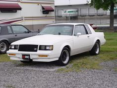 XRay Buick Grand National GNX White.   Probably just a T-type.