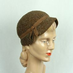 Vintage hats, The cap and Grosgrain on Pinterest