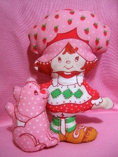 Strawberry Shortcake pillow-- had