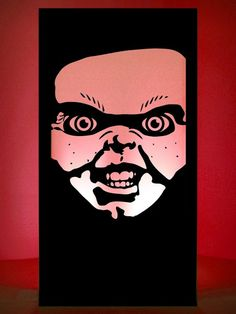 Halloween Evil Doll Silhouette Panel | Halloween Theme Party | Halloween Theme | Event Prop Hire