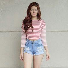 The stunningly sexy and pretty, Eloisa Andalio. Filipina Girls, Teen Beauty, Beauty Girls, Filipina Beauty, Liza Soberano, Girl Fashion, Fashion Outfits, Asian Fashion, Cute Girl Photo