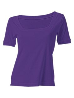BEST CONNECTIONS Carré-Shirt lila