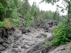 Primeval chaos - Imatra, Eastern Finland