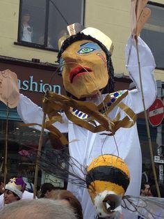 Brighton Festival Parade 2013- The Queen