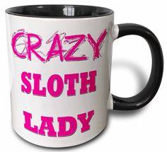 Crazy Sloth Mug