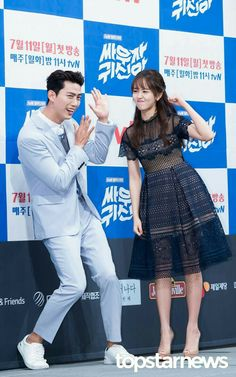 Kim So Hyun Turkey Wow Let's fight ghost press conference✌ Bring It On Ghost, Lets Fight Ghost, Korean Drama Movies, Korean Actors, Kim So Hyun Fashion, Korean Fashion, Kwon Yool, Ahn Min Hyuk, Kim Sohyun