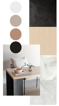 Mood Board Interior, Interior Design Boards, Living Room Designs, Living Room Decor, Bedroom Decor For Couples, Home Office Decor, Home Decor, My New Room, Minimalist Home