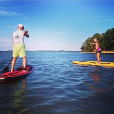 Paddle Boarding On Kentucky Lake