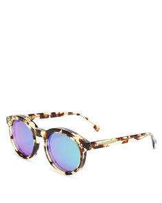 WILDFOX Harper Deluxe Mirrored Sunglasses on ShopStyle