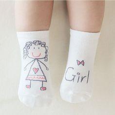 Cute cotton Soft Baby socks for girls bays Converse Children's socks half silicone short Anti-slip Socks Kids Thermal brand 2016