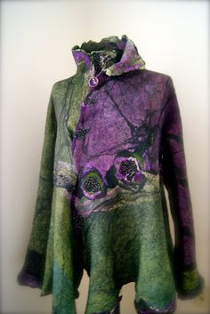 Seamless Butterfly Jacket - Absolutely beautiful! Again... wish I lived in a cooler climate!