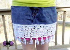 Ravelry: Crochet Upcycle Skirt pattern by Sonya Blackstone