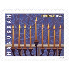 Hanukkah stamp. 2016.