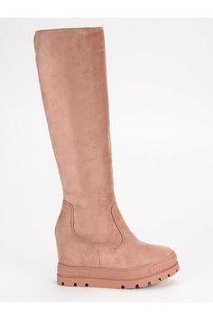 Semišové čižmy na platforme ružové M272P Ugg Boots, Uggs, Platform, Sexy, Shoes, Fashion, Ugg Slippers, Shoes Outlet, Fashion Styles