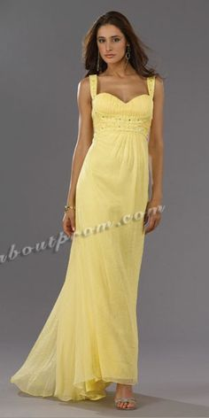 Short Yellow Bubble Prom Dress - $110.90 : TalkAboutProm Cheap ...