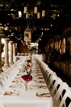 seating at wedding reception