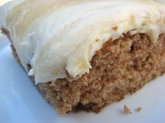 Apple Spice Cake with Dulce de Leche Buttercream Frosting    From The Pastry Queen Christmas  Rebecca Rather