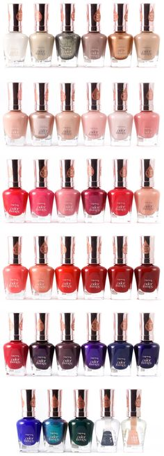 Sally Hansen Color Therapy Nail Polishes (Click for Swatches of Every Shade!)