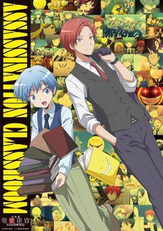Nuevo póster promocional de la película Ansatsu Kyoushitsu 365 Hi no Jikan.