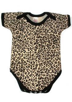 Cute Leopard Print Baby Grow |Animal Print Baby Clothes |