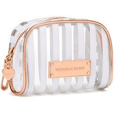 c31937a0fd9 Victoria s Secret Mini Cosmetic Bag Makeup Case, Pink Makeup, Crayon,  Victoria Secret Makeup