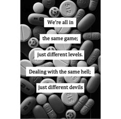 Black and white quote text devils hell game levels