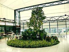 Atrium in a research and development facility