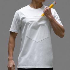 Large Pocket T-Shirt!