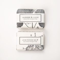 Soaps packaging