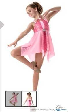 Pretty baby Cici dance costumes