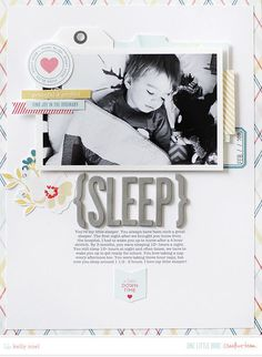 Scrapbooking Layouts | 8.5x11 layouts | Scrapbooking Pages | Creative Scrapbooker Magazine #scrapbooking #8.5X11layouts