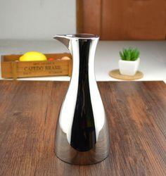 ステンレス鋼ファッション 304 リーク オイラー オイル ボトル品質金属ポット の酢ボトル