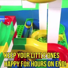 Funnel Slide Track Building Blocks - Everything About Diy Car Preschool Fine Motor Skills, Preschool Science, Toddler Toys, Toddler Activities, Marble Tracks, Cognitive Behavioral Therapy, Lego Creations, Teaching Tools, Legos