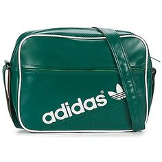 58fb01d9d7cea ADIDAS ORIGINALS AIRLINER PERFORATED SHOULDER BAG IN FOREST GREE - ADIDAS  ORIGINALS - MelMorgan Sports Adidas