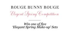 Pin & win. (Rules: http://en.rougebunnyrouge.com/customer-service/pinterest?utm_source=Pinterest_medium=Pin_campaign=RBR+Product+Collection )