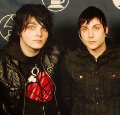 Gerard and Frank / MCR ♥️