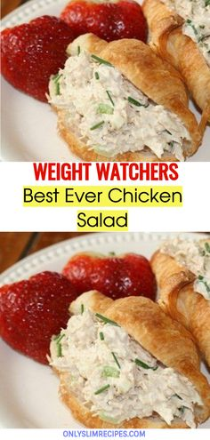Best Ever Chicken Salad // #weightwatchersrecipes #smartpointsrecipes #WeightWatchers #weight_watchers #Healthy #Skinny_food #recipes #smartpoints #Chicken
