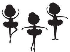 Plantilla. Bailarina