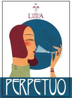 Perpetuo - Grillo - Lauria #vino #naming #design #vino #packaging #etichette